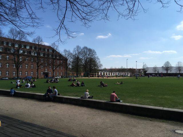 University campus in Lüneburg, Germany