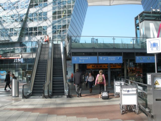 Munich airport is the arrival point for many international students coming to study in Germany