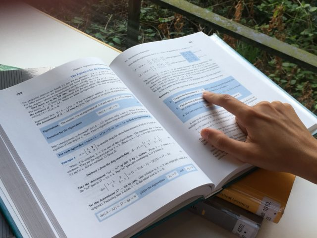 If you want to study at university, you'll need to cultivate independent study habits